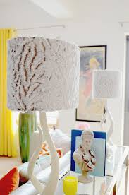 DIY Fur Lampshade Makeover