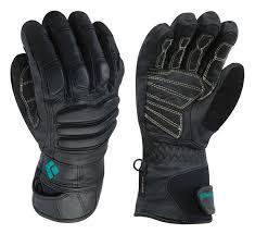 black le frontale spot black spark white vêtements femme gants black