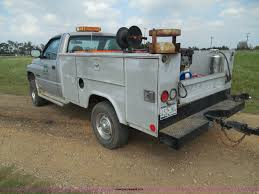 Stahl Utility Bed by 1999 Dodge Ram 2500 Utility Truck Item I3397 Sold Septe