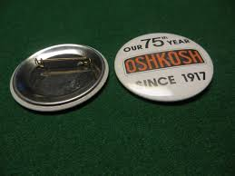 100 Oshkosh Truck Corp OUR 75TH YEAR OSHKOSH SINCE 1917 OSHKOSH TRUCK CORP ADVERTISING