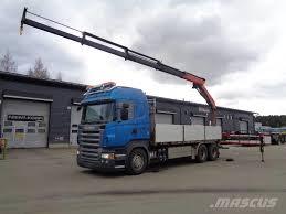 Scania -r-560, Manufacture Date (yr): 2007 Price: $62,280 - Crane ...