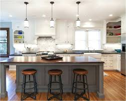 breakfast bar lighting ideas kitchen island small brown cupboard