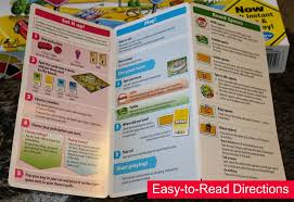 Easy To Read Directions For The Game Of Life
