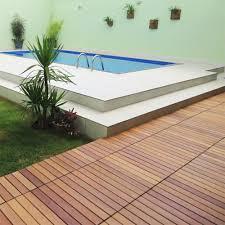 Kon Tiki Wood Deck Tiles by Flexdeck Interlocking Patio Tiles 12 X 24 Set Of 5 In Patio