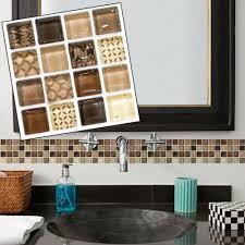 badezimmer heim mosaik wandaufkleber fliesen selbstklebende