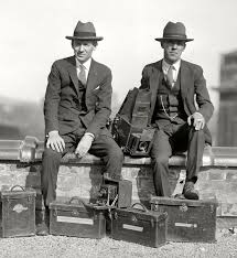 Vintage Everyday A Couple Of Dapper Photographers From The