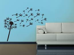 Wall Mural Decals Flowers by Amazon Com Blowing Dandelion Wish Flower Vinyl 30 Inch Wall Decal
