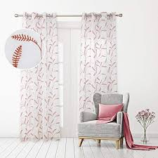 deconovo voile vorhang leinenoptik ösenvorhang transparent dekoschal gardinen stores wohnzimmer schlafzimmer weizengrass 175x140 cm orange 2er set