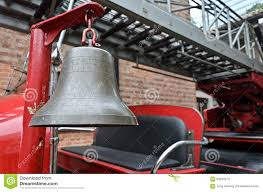 100 Fire Truck Bell Alarm On Old Stock Image Image Of Isolated Ladder