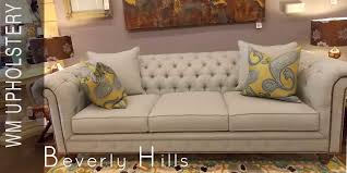 Furniture Upholstery Beverly Hills California Reupholstery