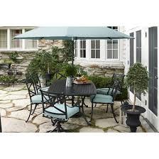 smith hawken edinborough metal patio furniture collection