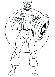 Amazing Captain Coloring Pages For Your With 41 Remarkable America Pictures To Color Lego Civil War