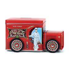 100 Bank Truck CocaCola Delivery Tin Container Coke Store