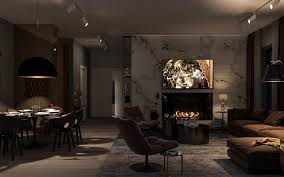 herunterladen hintergrundbild stilvolles interieur loft