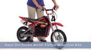 Razor MX500 36 Volt Dirt Rocket