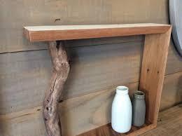 100 Tree Branch Bookshelves Upcycled Rimu Tree Branch Shelf Felt