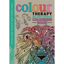 Colour Therapy Creative Colouring For Grown Ups