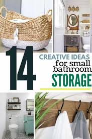 14 genius storage ideas in small bathrooms with farmhouse