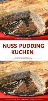 nuss pudding kuchen