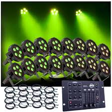 1 2 Price American DJ Mega Tripar Profile Up Lighting System