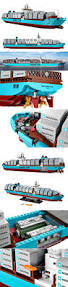Lego Ship Sinking 2 by The World U0027s Largest Cargo Ship Is Now Available As A Giant Lego