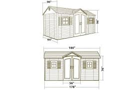 Arrow Shed Instructions 10 X 12 by Lovely Lifetime 6446 15 By 8 Foot Outdoor Storage Shed 86 About