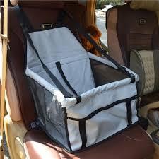 siege de transport sac siège de transport voiture pour chien respirante bleu clair