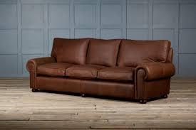 Furniture Awesome Rustic Leather Sofa Design Ideas