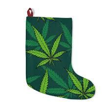 420 Mile High Weed Seasonal Christmas Stockings Marijuana Stocking