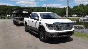 Review: Nissan's Half-ton Titan Heads To Cottage Country - The ... 2016 Nissan Titan Xd Towing With The 58ton Truck Review Nissans Halfton Heads To Cottage Country The Half Ton Tow 15ft Self Contained Work And Play Toy Hauler 2015 Pickup Truck Wikipedia Need Tow A Classic Big Three Bring Diesels Detroit Whats Safest Halfton For 2018 News Carscom Gmc Canyon Longterm Max Test Autoguidecom 12 Ton Towable Toy Hauler Rzr4 Polaris Rzr Forum Ram Tough Dilemma Hemi Vs Ecodiesel Shdown We Compare V6 12tons Common Mistakes Rv Magazine Is Of Fun Toronto Star
