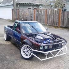 100 E30 Truck BMW_ Pickup Chopped Modified Drifter Stance Camber Euro