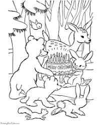 Coloring Page Animal Pages