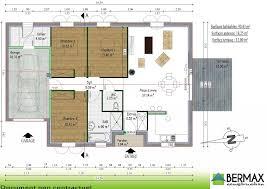 plan maison 90m2 plain pied 3 chambres maison plain pied 3 chambres 90m2 1 plan maison plain pied 3