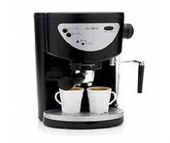 Mr Coffee EC0 Pump Espresso And Capuccino Maker