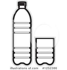 Sports Bottle Clipart Black And White
