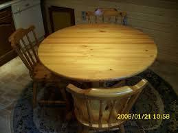 runder tisch mit 3 stühlen für küche eßzimmer durchm 1 10m