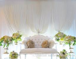 Fashion New Style Romantic Show White 3m X 6m Backdrop Stage