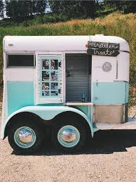 Horse Trailer Ice Cream Food Truck | Horse / Stock Trailer Ideas In ...