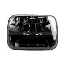 100 Truck Lite 27490C 7x6 Rectangular Black LED Headlight TRUCKiDcom