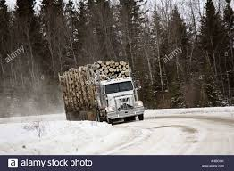 100 Trucks In Snow Logging Truck Winter Stock Photos Logging Truck Winter Stock