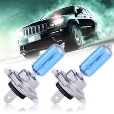 2pcs h7 xenon halogen bulb 5000k car white light bulbs 12v