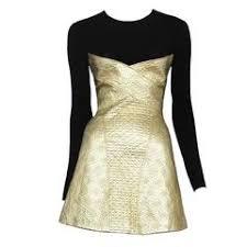 Gold Cocktail Dresses