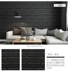 PE Foam 3D Wall Brick Panel Wallpaper Room Decor Kids