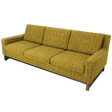 Danish Modern Sofa Sleeper by Mid Century Danish Modern Raw Wool Upholstery Sofa By Selig For