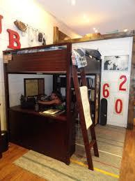 Desk Bunk Bed Combo by Bedroom Mesmerizing Pottery Barn Loft Bed For Kids Bedroom