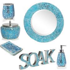 Jcpenney Bathroom Accessory Sets by Bathroom Accessories Aqua Bathroom Design Ideas 2017