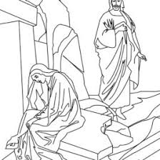 RELIGIOUS EASTER Coloring Pages Resurrection Of Jesus Christ