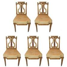 Lyre Back Chairs History by 1920s Dining Room Chairs 69 For Sale At 1stdibs