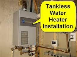 Simple Water Heater Pipe Connections Placement by Tankless Water Heater Installation