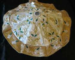 72 Inch Gold Christmas Tree Skirt by Celtic Christmas Tree Skirt Celtic Knotwork Pinterest Tree